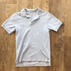 IZOD: Pale blue boy's collared tee